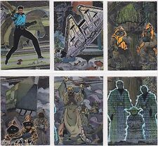 STAR WARS TOPPS GALAXY SERIES 3 ETCHED FOIL INSERT SET 13-18 (6)
