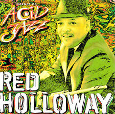 Legends of Acid Jazz by Red Holloway (1998 Prestige CD) NEW SEALED!