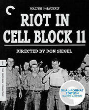 Riot in Cell Block 11 (Blu-ray/DVD, 2014, 2-Disc Set, Criterion Collection)
