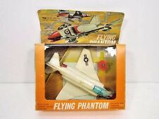 VINTAGE RARE 1960'S FLYING PHANTOM HIGH SPEED BATTERY DRIVEN AIRPLANE TOY IN BOX