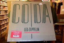 Led Zeppelin Coda LP sealed 180 gm vinyl RE reissue