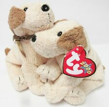 "Ty Beanie Baby - ""Rufus"" the dog - PRISTINE CONDITION Brand New w/Mint Tags"