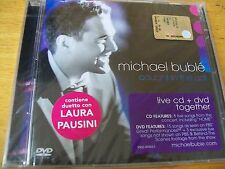 MICHAEL BUBLè CAUGHT IN THE ACT CD+DVD SIGILLATO DUETTO CON LAURA PAUSINI