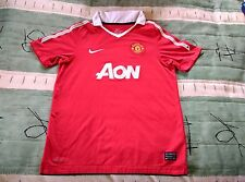 Manchester United Football Club Home Jersey 2010 to 2011 Children 12 to 13 Years