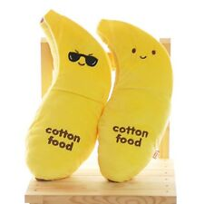 Banana Cushion Food Plush Toy Doll : Sunglass