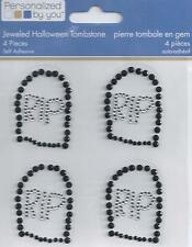 Personalized By You Jeweled Halloween TOMBSTONE Embellishments