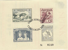 Stamps Australia THE COLLECTOR magazine promotional mini sheet & postmark folder