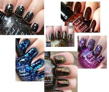 KLEANCOLOR NAIL POLISH LACQUER 0.5 OZ A SET OF 2 - ITS ART ON BLACK