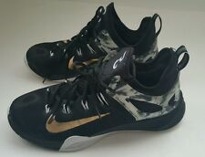 Nike Zoom Hyperrev Paul George PE Black Gold 705370 071 Men's Size 9.5