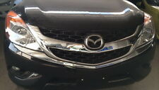 FRONT GRILL COVER CHROME FOR MAZDA BT 50 PRO 2012 - 2014