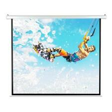 "Pyle PRJELMT86 84"" Motorized Projector Screen, Includes Remote Control - White"