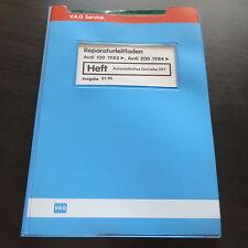 Werkstatthandbuch Audi 100 C3 2,3L Typ 44 & Quattro Automatik Getriebe 097 AEK