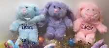 Easter Bunny Personalized Stuffed Animals Plush Next Day Free Shipping!