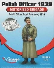 POLISH MOTORISED BRIGADE OFFICER 1939 #135005 1/35 MIRAGE LIMITED EDITION