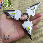 New Game Overwatch Genji Darts Alloy Weapon Model Rotatable Black Gun Darts