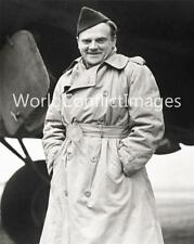 WW2 Actor James Cagney 8x10 Photo Bassingbourn Visit ETO USAAF