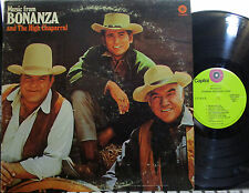 Bonanza / High Chaparral  (TV Soundtracks) (Lorne Greene, Michael Landon) (2 LPs