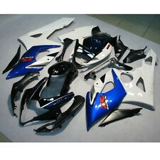 Black White INJECTION Plastic Fairing For SUZUKI GSXR1000 GSXR 1000 05 06 K5 1B