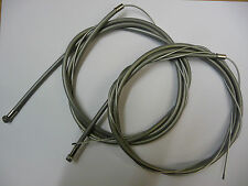 Retro Silver / Grey Colour BMX Brake Cables Inner wire & Outer Housing Bike