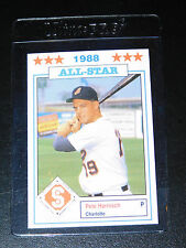 1988 SOUTHERN LEAGUE ALL STARS PETE HARNISCH CARD #32 (Mint)