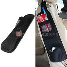 Black Auto Car Seat Side Storage Bag Organizer Multi Pocket Holder Accessory