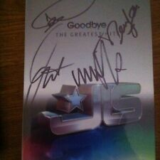 JLS - GOODBYE THE GREATEST HITS -  SIGNED  2 CD + DVD Super Deluxe Book LIMITED