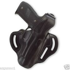 Galco Cop 3 Slot Holster For 1911's , 5 inch, Right Hand Black, Part # CTS212B