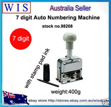 7 Numbers Automatic Self Inking Numbering Machine Automatic Numerator-98208