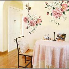 Roses Wall Stickers Mural art Decal Wallpaper Decor REUSABLE DM57-0098 Free P&P