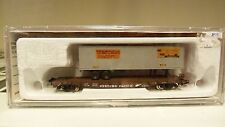 CON-COR 1/160 N 50' FLAT TRAILER WEST PACIFIC IN BOX/ CASE SEE PICS -4D#2