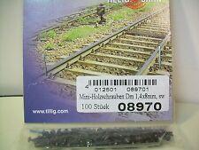 Tillig mini-madera tornillos 100 unidades por envase nuevo + embalaje orig. Art. - nr: 08970