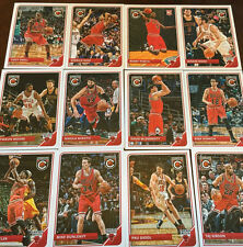 2015 2016 CHICAGO BULLS 3 Team Set Lot PANINI COMPLETE Donruss HOOPS 2015-16