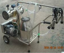 Portable Vacuum Pump Milking Machine Cows - Single Tank - Factory Direct +EXTRAS