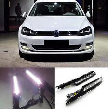 Fit For 14-16 Volkswagen VW MK7 Golf 10W 6-LED Daytime Running Lights DRL Kit