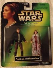 STAR WARS Princess Leia Collection PRINCESS LEIA & HAN SOLO Kenner 1997 MISP