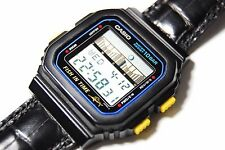 CASIO VINTAGE FT-100W FISH IN TIME WR.100 QW.844 JAPAN YEAR 1989 #892