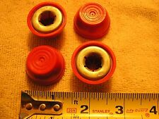 "Radio Flyer Wagon Parts Axle Caps for 0.50"" axle.   New Red Caps Package of 4"