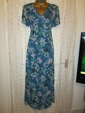 ladies monsoon long tunic dress size 10 fully lined short sleeves