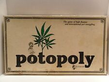 Potopoly VTG 1979 Board Game Like Monopoly Rare Weed 420 Marijuana High Times
