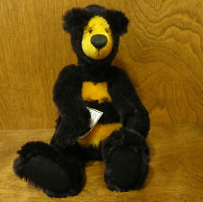 """Artist Exclusive BENNIE BEE, 10"""" mohair jointed LE We Be Bears by P Crosthwaite"""