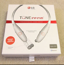 LG TONE Infinim HBS-900 Bluetooth Wireless Stereo Headset HBS900 Silver/Black