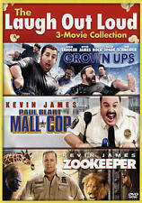 The Laugh Out Loud 3 Movie Collection  Grown Ups,  Mall Cop,  Zookeeper