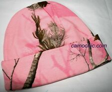 REALTREE AP PINK CAMO KNIT STOCKING CAP OR BEANIE, HAT 12""
