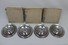 1953 1954 1955 Corvette hubcaps NOS GM with boxes