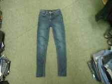 "Platinum New Look Skinny Jeans Size 8 Leg 28"" Ladies Dark Blue Jeans"