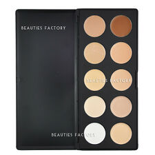 10 Color Camouflage & Concealer Foundation Natural Palette (Cream Texture) 610