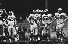 1950's NFL FOOTBALL Defense PHILADELPHIA EAGLES Players Sports Photo Art 11x14