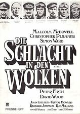 Schlacht in den Wolken Presseheft press book Aces High Malcolm McDowell Plummer