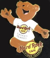 Hard Rock Cafe CAYMAN ISLANDS 2009 CLASSIC Teddy Bear Series PIN 200 HRC #50630