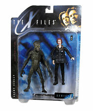 Vintage McFarlane 1998 X-Files Agent Scully with Alien Series 1 Figure Set